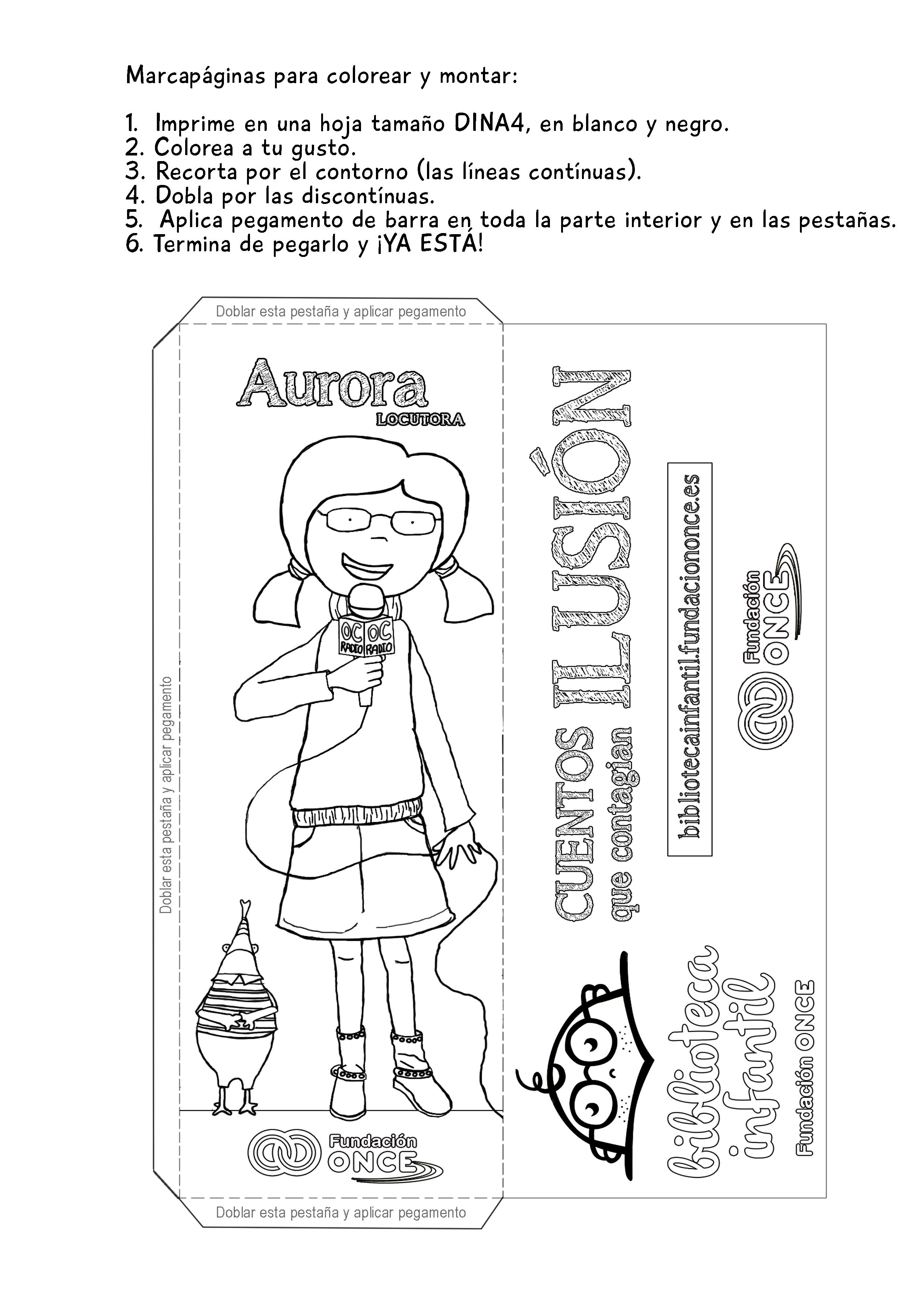 Actividades - Biblioteca infantil Fundación ONCE